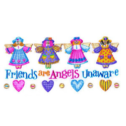 Angel Friends embroidery design