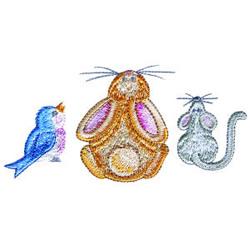 Animal Border embroidery design