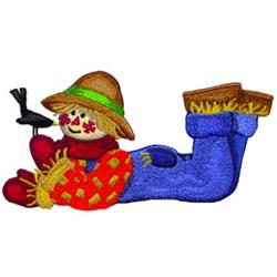 Scarecrow embroidery design