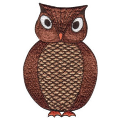Night Owl embroidery design