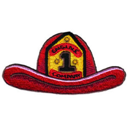Firemans Hat embroidery design