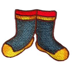 Firemans Boots embroidery design