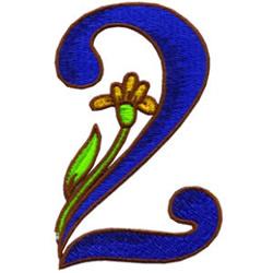 Loris Alphabet 2 embroidery design
