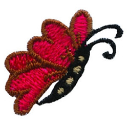 Loris Butterfly embroidery design