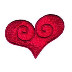 Loris Heart embroidery design