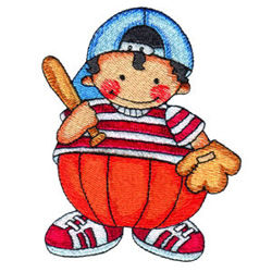 Pumpkin Patch Kid 8 embroidery design