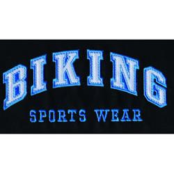 Biking Applique embroidery design