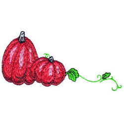 Pumpkins 2 embroidery design