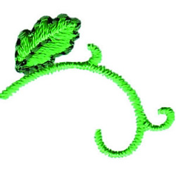 Vine embroidery design