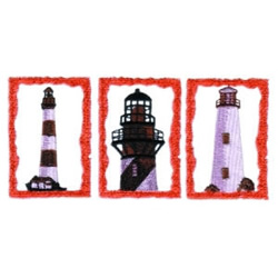 Lighthouse Scenes embroidery design