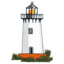 White Lightstation embroidery design
