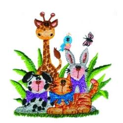 Cute Animals embroidery design