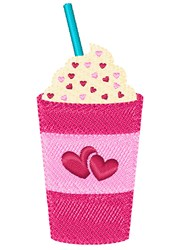 Love Drink embroidery design
