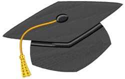Graduation Hat embroidery design