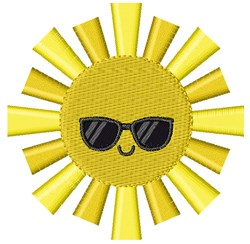 Summer Sun embroidery design