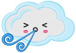 Wind Cloud embroidery design