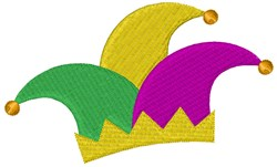 Jester Hat embroidery design