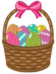 Egg Basket embroidery design