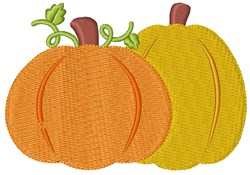 Fall Pumpkins embroidery design