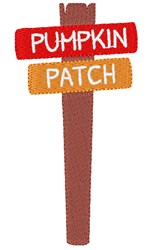 Pumkin Patch embroidery design