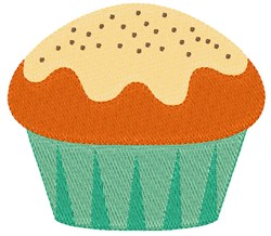 Pumpkin Spice Cupcake embroidery design