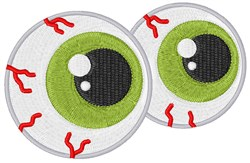 Halloween Eyeballs embroidery design