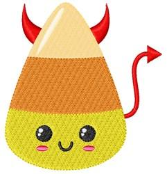 Candy Corn Devil embroidery design