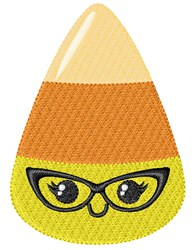 Candy Glasses Girl embroidery design