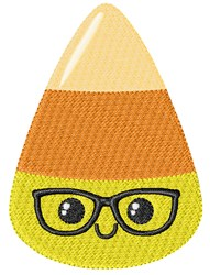 Candy Glasses Boy embroidery design