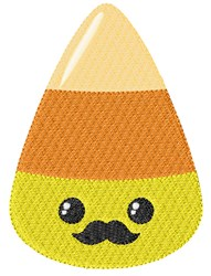 Candy Corn Man embroidery design