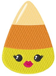 Candy Corn Woman embroidery design