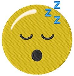 Sleeping Smiley embroidery design