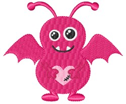 Love Monster embroidery design