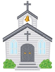 Wedding Chapel embroidery design