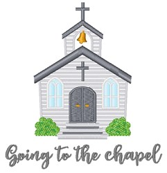 Going To Chapel embroidery design