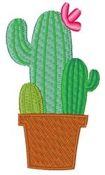 Prickly Cactus embroidery design