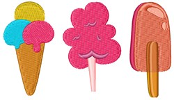 Summer Treats embroidery design