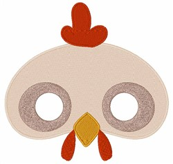 Chicken Face embroidery design