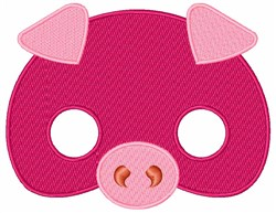 Pigs Face embroidery design