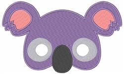 Koalas Face embroidery design