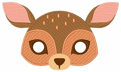Deers Face embroidery design