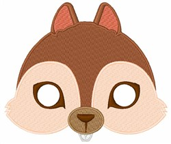 Squirrels Face embroidery design