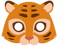 Tigers Face embroidery design
