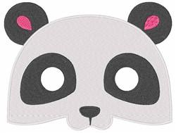 Pandas Face embroidery design