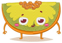 Happy Face Honeydew embroidery design