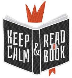 Read A Book embroidery design