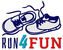Run 4 Fun embroidery design