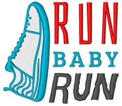 Run Baby Run embroidery design