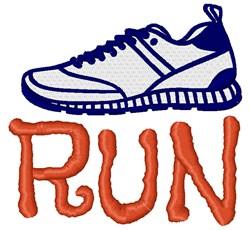 Run embroidery design