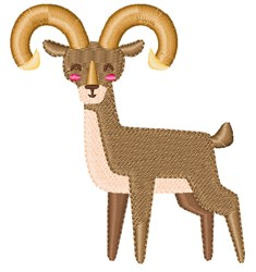 Urial embroidery design